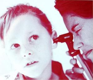 Zánět středního ucha u malých dětí