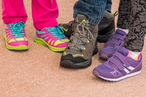 Vyberte správnou dětskou obuv